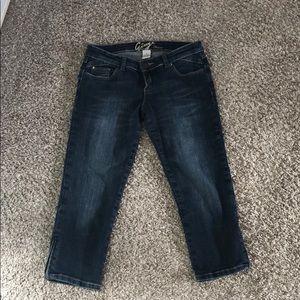 Garage cropped jeans/ jegging sz 5